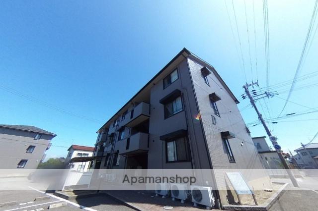 新潟県新潟市東区の築16年 3階建の賃貸アパート
