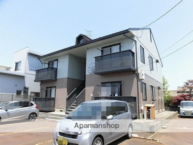 新潟県新潟市東区、大形駅徒歩17分の築20年 2階建の賃貸アパート