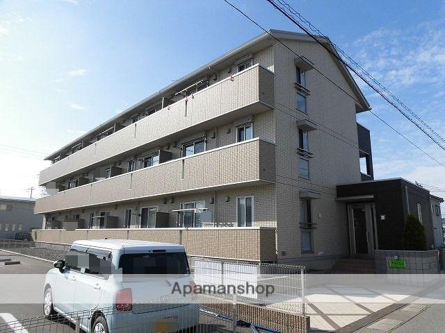 新潟県新潟市東区の築3年 3階建の賃貸アパート