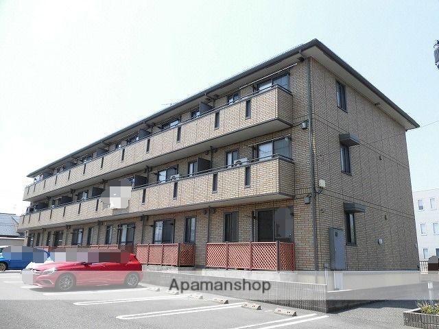 新潟県新潟市東区の築10年 3階建の賃貸アパート