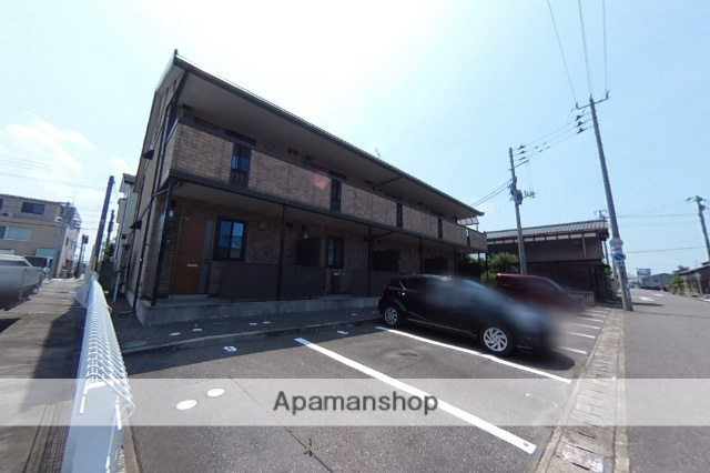 新潟県新潟市中央区の築13年 2階建の賃貸アパート