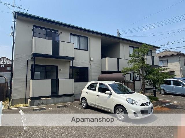 新潟県新潟市東区、東新潟駅徒歩12分の築20年 2階建の賃貸アパート