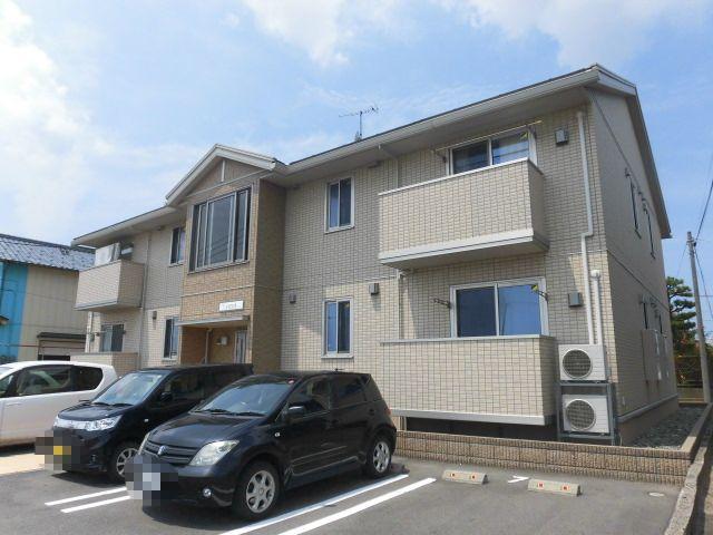 新潟県新潟市東区、東新潟駅徒歩33分の築5年 2階建の賃貸アパート