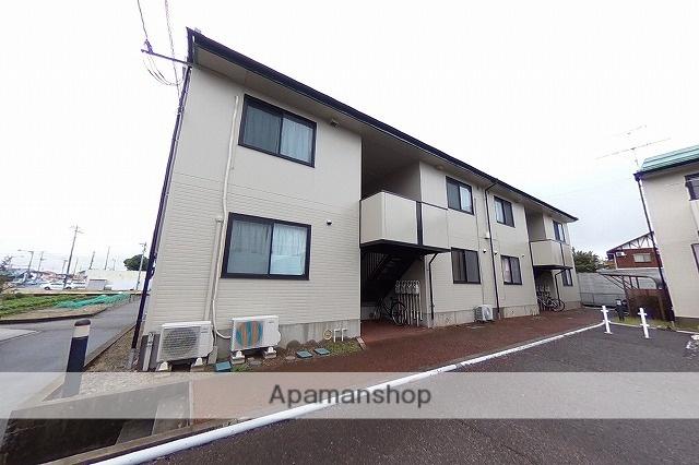 新潟県新潟市東区、越後石山駅徒歩19分の築20年 2階建の賃貸アパート
