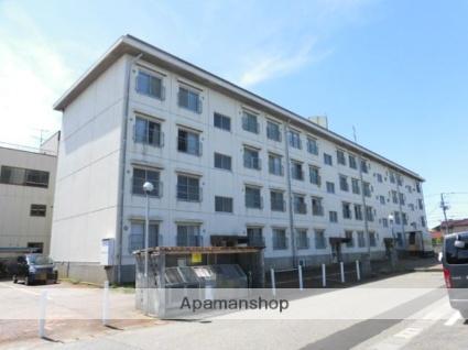 新潟県新潟市東区、越後石山駅徒歩22分の築41年 4階建の賃貸マンション