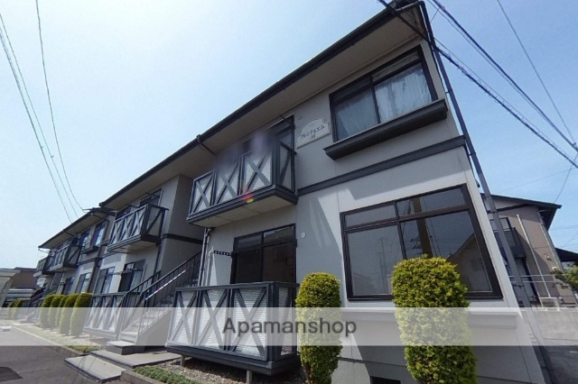 新潟県新潟市東区の築23年 2階建の賃貸アパート