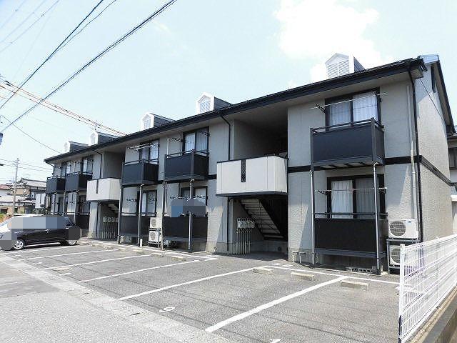 新潟県新潟市東区、越後石山駅徒歩8分の築22年 2階建の賃貸アパート