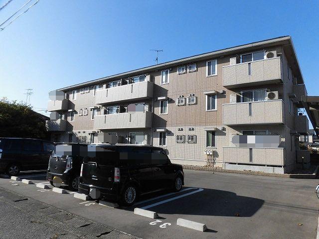 新潟県新潟市東区、新潟駅徒歩43分の築2年 3階建の賃貸アパート