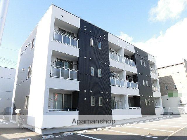 新潟県新潟市東区、新潟駅徒歩42分の築1年 3階建の賃貸アパート