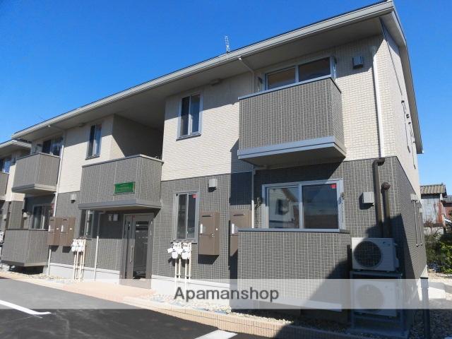 新潟県新潟市東区、新潟駅徒歩30分の築1年 2階建の賃貸アパート