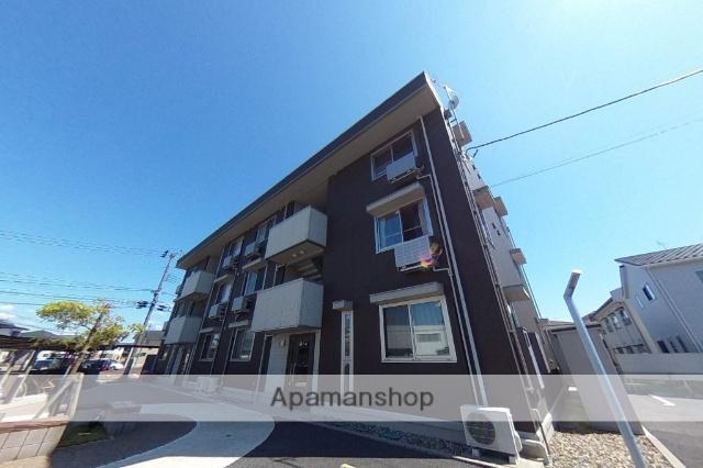 新潟県新潟市東区、越後石山駅徒歩18分の築1年 3階建の賃貸アパート
