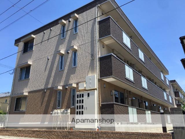 新潟県新潟市東区、越後石山駅徒歩16分の築1年 3階建の賃貸アパート