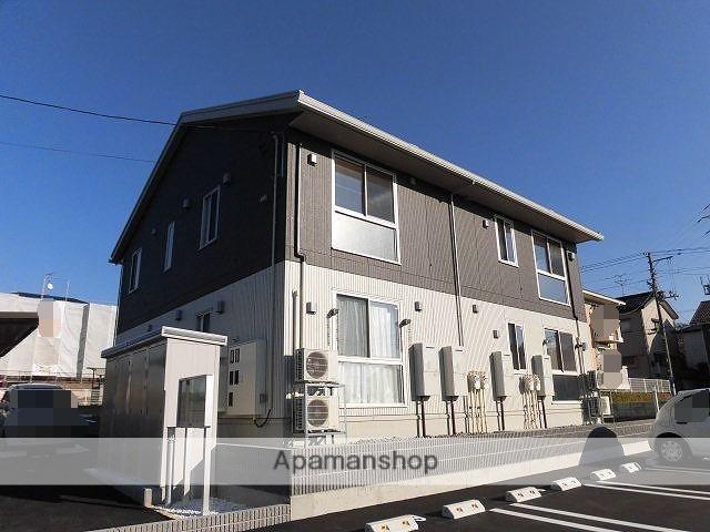 新潟県新潟市北区の新築 2階建の賃貸アパート