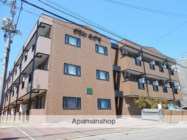 新潟県新潟市西区、小針駅徒歩7分の築17年 3階建の賃貸マンション