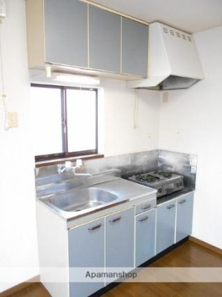 ノーブルハセガワ[2DK/40.57m2]のキッチン
