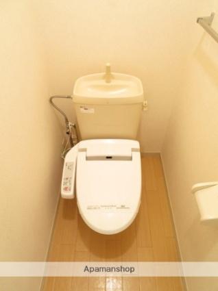 ヴィラアルカディア[1K/21.18m2]のトイレ