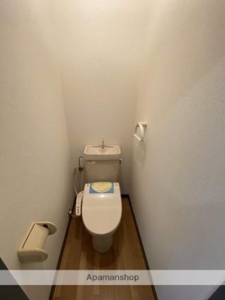 ハイツ江北[1K/24.3m2]のトイレ