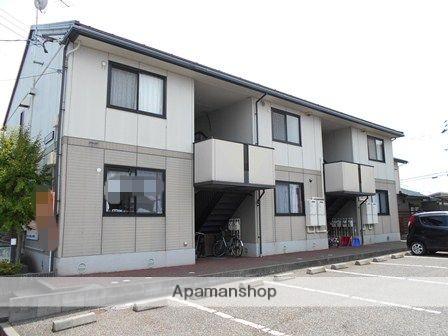 新潟県新潟市南区の築18年 2階建の賃貸アパート