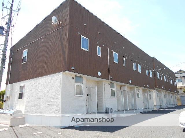 新潟県新潟市西区、小針駅徒歩3分の築2年 2階建の賃貸アパート