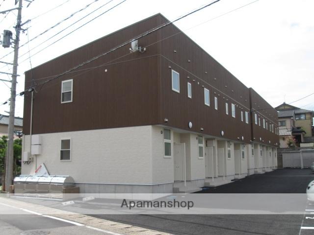新潟県新潟市西区、小針駅徒歩5分の築2年 2階建の賃貸アパート