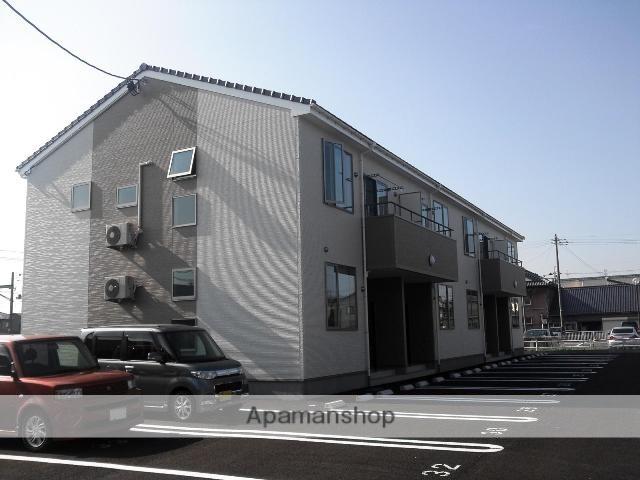 新潟県新潟市西蒲区、巻駅徒歩3分の築5年 2階建の賃貸アパート