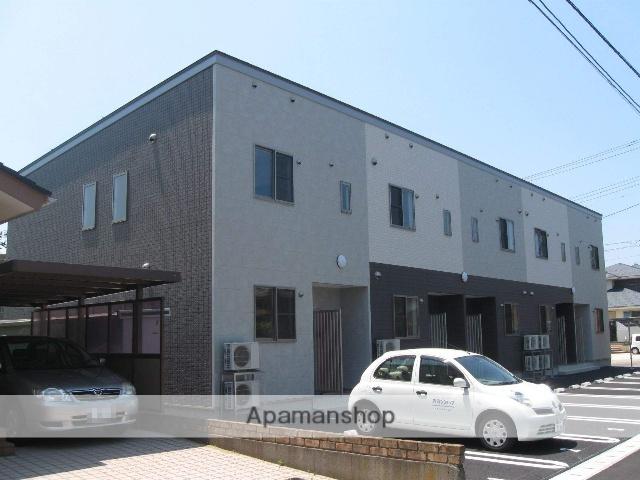 新潟県新潟市西区、新潟大学前駅徒歩8分の築2年 2階建の賃貸アパート