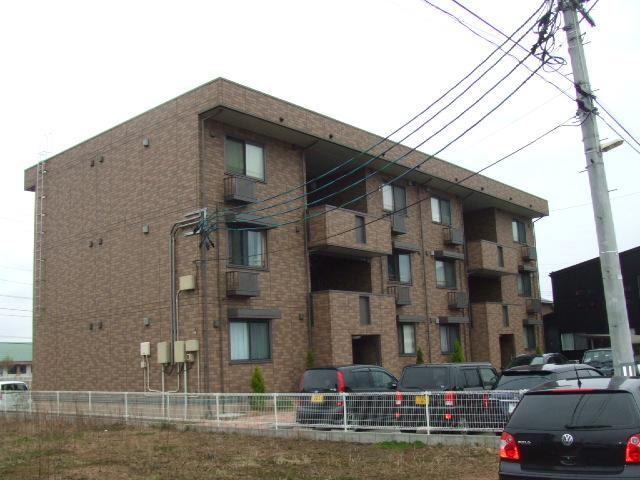 新潟県新潟市江南区、亀田駅徒歩8分の築10年 3階建の賃貸アパート