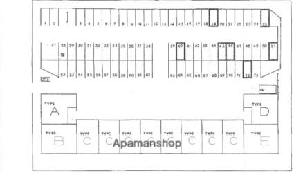 グランディール紫竹山[2SLDK/63.22m2]の配置図