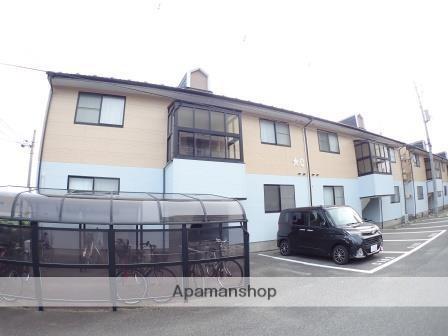 新潟県新潟市中央区、新潟駅徒歩10分の築17年 2階建の賃貸アパート