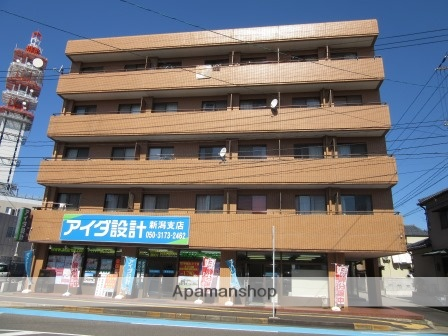 新潟県新潟市中央区、新潟駅徒歩10分の築30年 5階建の賃貸マンション