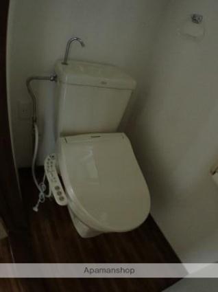 ラルゴ恵[2K/29.81m2]のトイレ