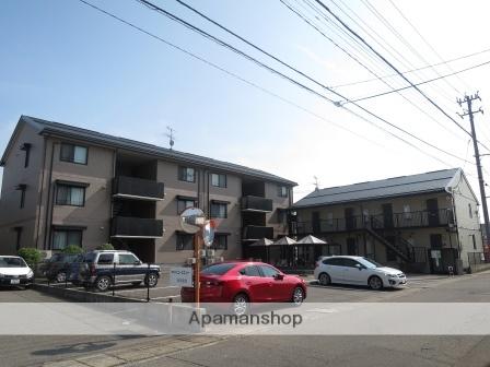 新潟県新潟市中央区、新潟駅徒歩34分の築17年 3階建の賃貸アパート