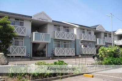 新潟県新潟市中央区、新潟駅徒歩65分の築27年 2階建の賃貸アパート