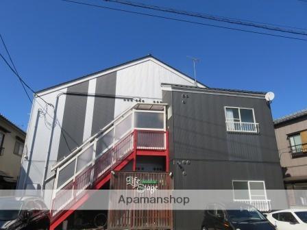 新潟県新潟市中央区、新潟駅徒歩17分の築22年 2階建の賃貸アパート