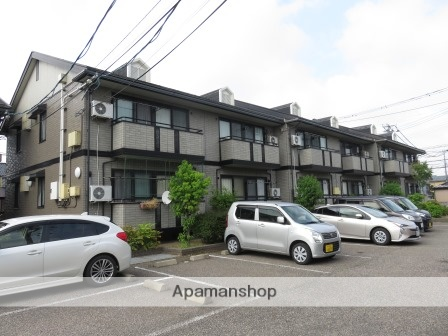 新潟県新潟市中央区、新潟駅徒歩55分の築17年 2階建の賃貸アパート