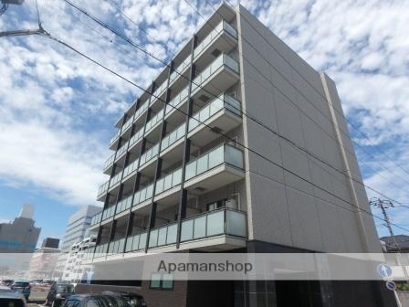 新潟県新潟市中央区、新潟駅徒歩10分の築2年 6階建の賃貸マンション