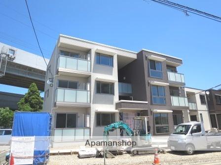 新潟県新潟市中央区の築2年 3階建の賃貸アパート
