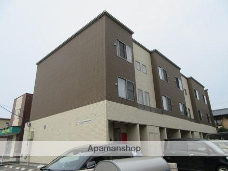 新潟県新潟市中央区、新潟駅徒歩20分の築1年 3階建の賃貸アパート