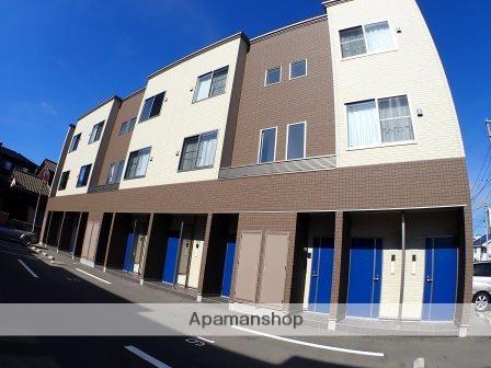 新潟県新潟市中央区、新潟駅徒歩20分の築2年 3階建の賃貸アパート