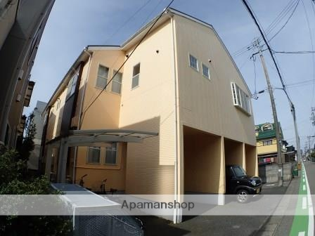新潟県新潟市中央区、新潟駅徒歩30分の築17年 2階建の賃貸アパート