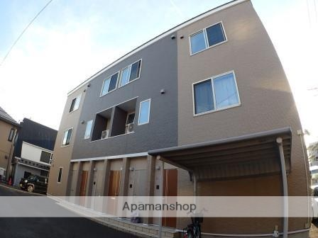 新潟県新潟市中央区、新潟駅徒歩18分の築1年 3階建の賃貸アパート