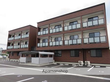 新潟県新潟市中央区、新潟駅徒歩25分の築1年 3階建の賃貸アパート