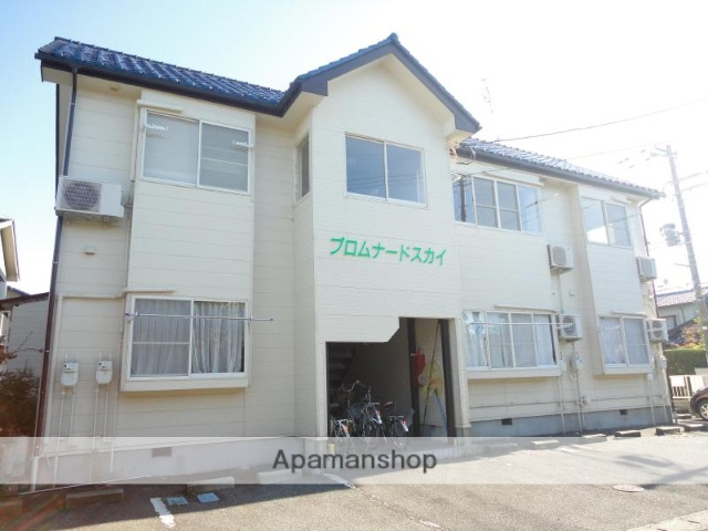 新潟県新潟市中央区、新潟駅徒歩35分の築23年 2階建の賃貸アパート