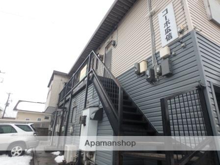 新潟県新潟市中央区、新潟駅徒歩29分の築35年 2階建の賃貸アパート