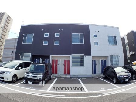 新潟県新潟市中央区、新潟駅徒歩12分の築4年 2階建の賃貸アパート