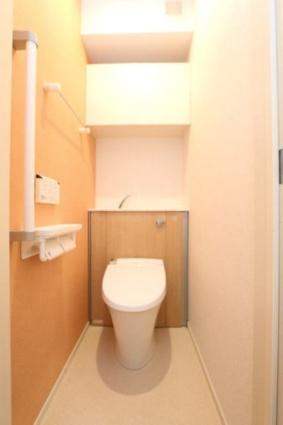 ジャスミン A[1K/25.83m2]のトイレ