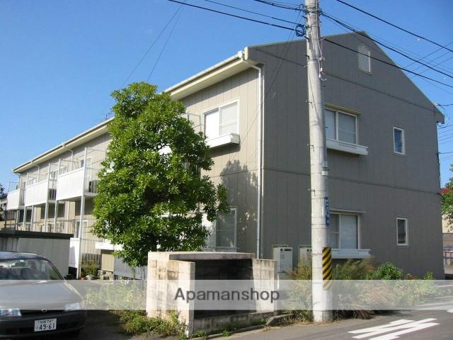 新潟県新潟市中央区、越後石山駅徒歩27分の築25年 2階建の賃貸アパート
