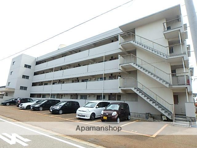 新潟県新潟市東区、越後石山駅徒歩12分の築40年 4階建の賃貸マンション