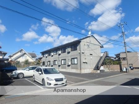 新潟県新潟市東区、越後石山駅徒歩6分の築15年 2階建の賃貸アパート