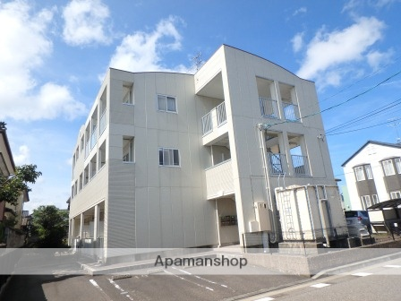 新潟県新潟市東区、新潟駅徒歩29分の築15年 3階建の賃貸マンション